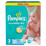Pampers Active baby dry pelenka 150 db 3