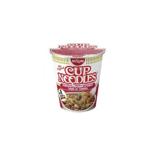 Nissin Cup noodles instant leves 64g Marha