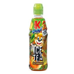 Kubu Play! Ice Tea barackos üdítőital 400ml