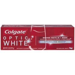 Colgate fogkrém 75ml Optic white Sparkling white