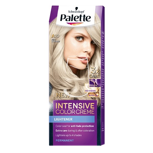 Palette hajfesték Intensive Color Creme 2x50ml (Ash blonde)
