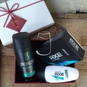 Axe ajándékcsomag Apollo (after shave, dezodor, roll-on)