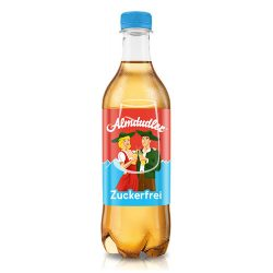Almdudler szénsavas almalé 500ml Light
