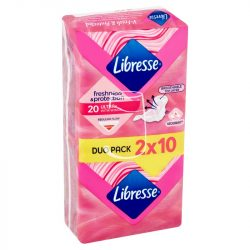 Libresse intim betét Freshness&protection Ultra+ 20db-os normal