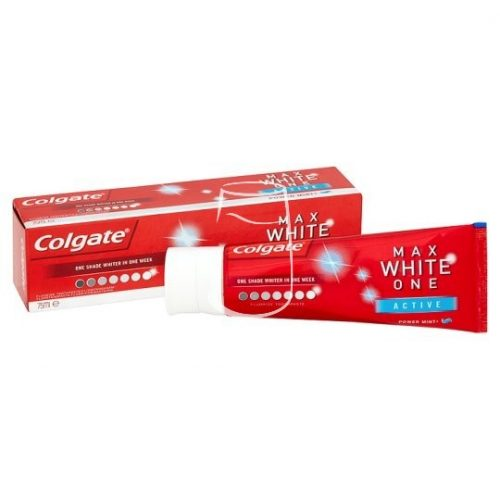 Colgate fogkrém 75ml Max White one Active power mint