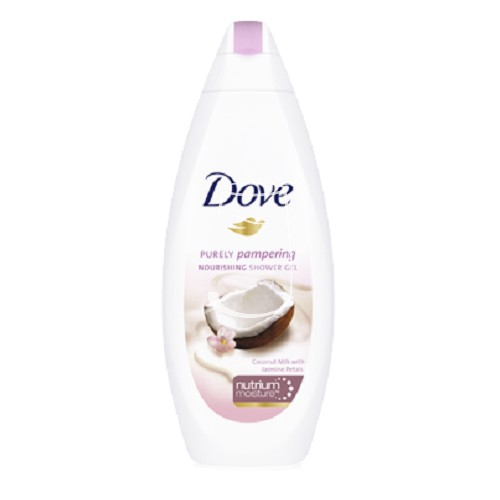 Dove tusfürdő 250ml Purely pampering Coconut milk