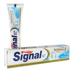 Signal fogkrém 75ml Integral8 White
