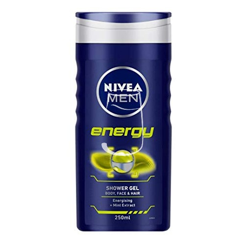 Nivea Men tusfürdő 250ml Energy