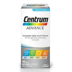 Centrum multivitamin tabletta 100db-os Advance