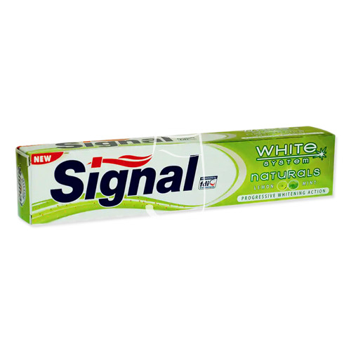 Signal fogkrém 75ml White system Natural