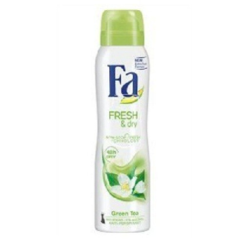Fa dezodor 150ml Fresh&dry Green tea