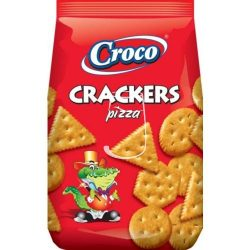 Croco crackers 100g Pizzás