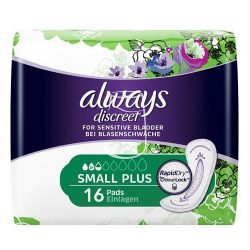 Always discreet inkontinencia betét 16db-os Small plus