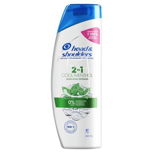 Head & Shoulders sampon 400ml Menthol refresh