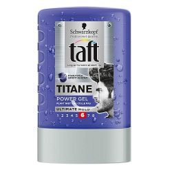 Taft hajzselé 300ml Titane power (6)