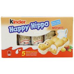 Kinder Happy hippo 5x20,7g Milk+hazelnut
