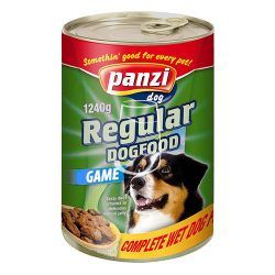 Panzi Regular Dog Adult konzerv eledel (vadhús) 1240g