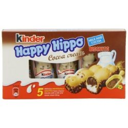 Kinder Happy hippo 5x20,7g Cacao+milk