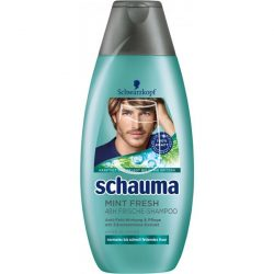 Schauma for men sampon 400ml Mint fresh