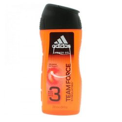 Adidas tusfürdő 250ml Team force stimulating