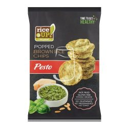 Rice up! pesto ízesítésű barna rizs chips