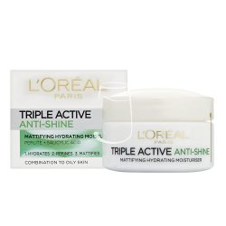 L'oréal Paris nappali arckrém 50ml Triple active Anti-shine