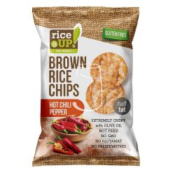 Rice up! chilis barna rizs chips