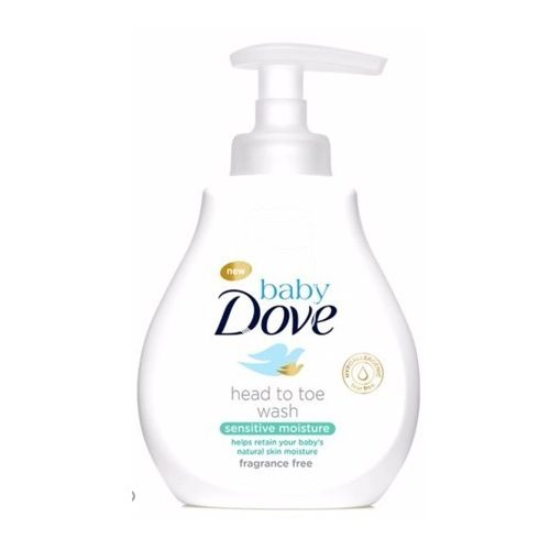 Dove baby Head to toe fürdetőgél 400ml Sensitive moisture