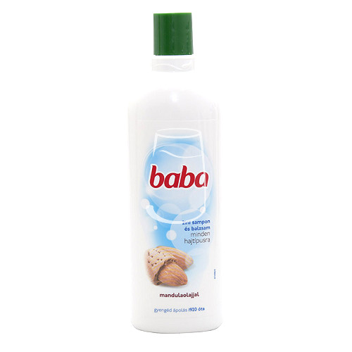 Baba sampon 400ml 2in1  Mandulaolajjal