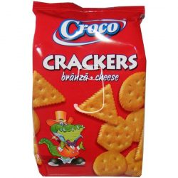 Croco crackers 100g Sajtos