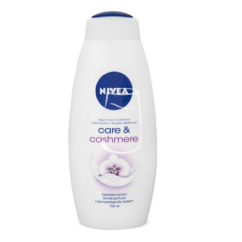 Nivea habfürdő 750ml Care&cashmere