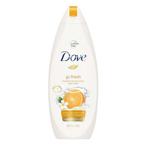 Dove tusfürdő 250ml Go fresh Mandarin & Tiare flower