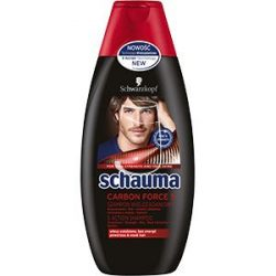 Schauma for men sampon 400ml Carbon forces 5