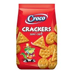 Croco crackers 100g Sós