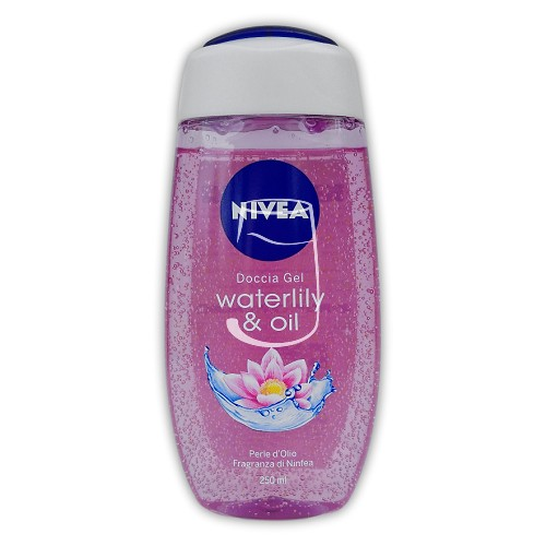 Nivea tusfürdő 250ml Waterlily & oil