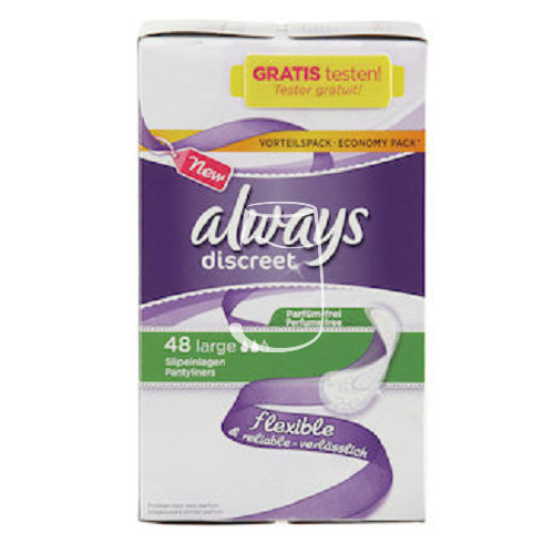 Always intim betét twist & flex 42db-os Normal