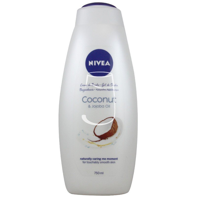 Nivea habfürdő 750ml Care&coconut